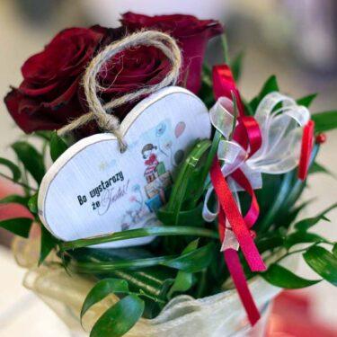 bukiecik roz
