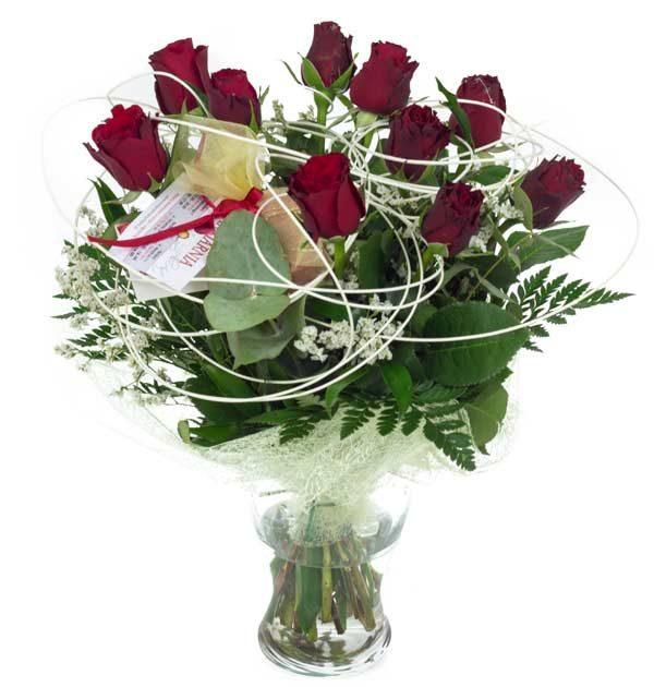 bukiet róż klasyczny
