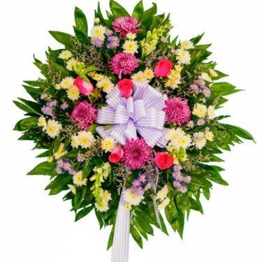 wiazanka pogrzebowa wieniec